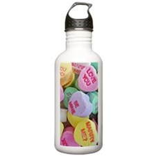 Candy Hearts Water Bottle