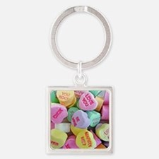 Candy Hearts Keychains