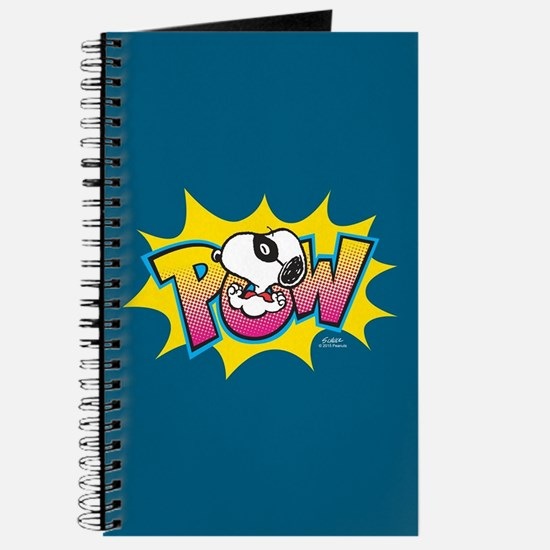 Peanuts Snoopy Pow Journal
