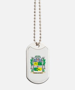 Hargrove Coat of Arms (Family Crest) Dog Tags