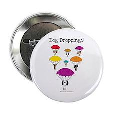"""Unique Dog poop 2.25"""" Button"""