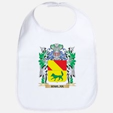 Harlan Coat of Arms (Family Crest) Bib
