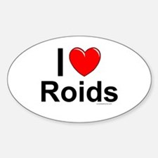 Roids Decal