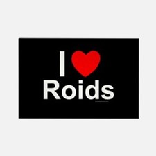 Roids Rectangle Magnet