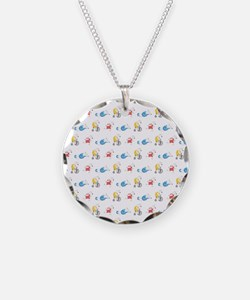Polar Bear Triathletes Necklace