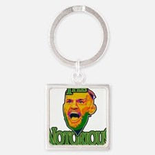 TheNotorious Square Keychain
