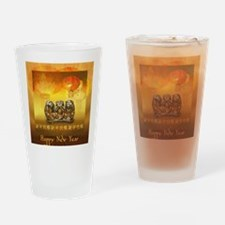 Unique Chinese new year Drinking Glass