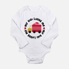 Funny Gigi Long Sleeve Infant Bodysuit
