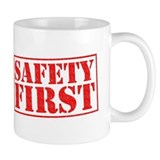 Safety first Small Mugs (11 oz)
