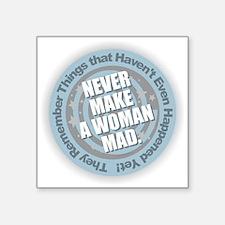 Woman Mad Sticker