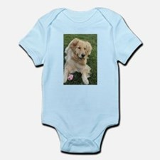 frisky golden retriver Body Suit