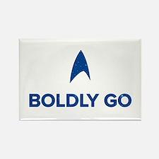 Boldly Go Star Trek Magnets