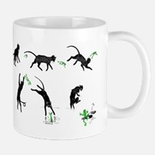 Cat And Frog Mugs