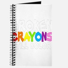 BROKEN CRAYONS STILL COLOR Journal