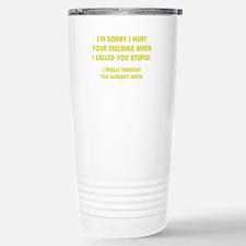 Unique Sarcastic Travel Mug