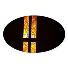 stained glass church wind Stickers