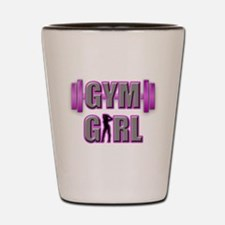 Gym Girl Design 3 Shot Glass