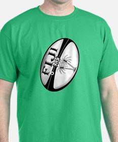 Fiji Rugby Ball T-Shirt