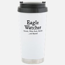 Unique White Travel Mug