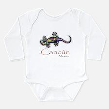 Cute Cancun Long Sleeve Infant Bodysuit