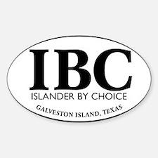 IBC Islander By Choice Bumper Stickers
