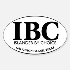 IBC Islander By Choice Decal