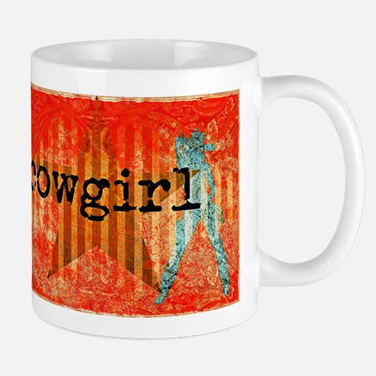 Cowgirl Paisley Mugs