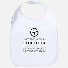 Never mess with geocacher Bib