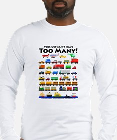 Cute Trains Long Sleeve T-Shirt