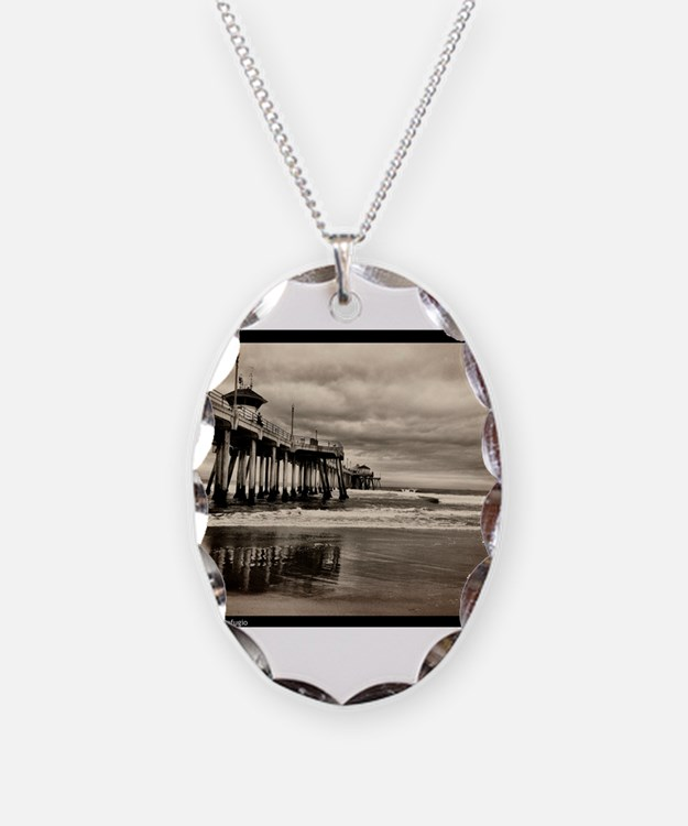 Huntington Beach CA Pier Necklace