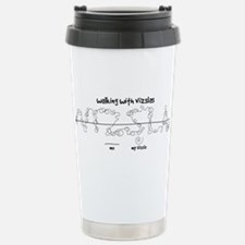 Cute Dog humor Travel Mug