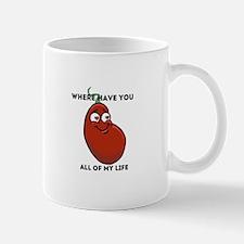 Lover bean t-shirt Mugs