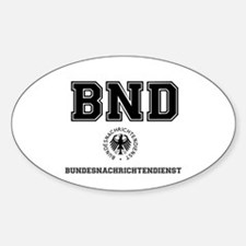 BND - GERMAN SPY AGENCY - Decal