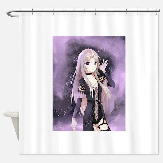 Beautiful anime girl Shower Curtain