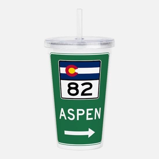 Aspen, Colorado Acrylic Double-wall Tumbler