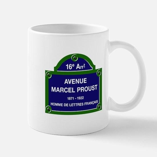 Avenue Marcel Proust, Paris, France Mug