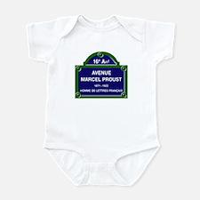 Avenue Marcel Proust, Paris, Franc Infant Bodysuit