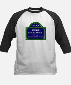 Avenue Marcel Proust, Paris, Kids Baseball Jersey