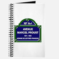 Avenue Marcel Proust, Paris, France Journal