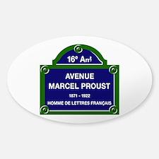 Avenue Marcel Proust, Paris, France Decal