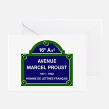 Avenue Marcel Proust, Pa Greeting Cards (Pk of 10)