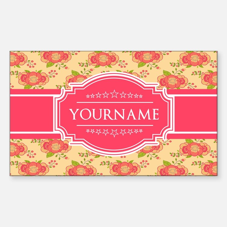 Personalized Name Gift F Decal