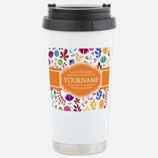 Personalized Name Monog Travel Mug
