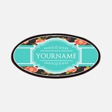Chic Floral Custom Gifts Personalized Name Patch