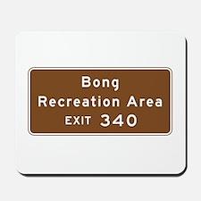 Bong Recreation Area, WI Mousepad