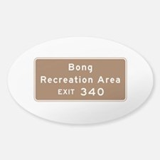 Bong Recreation Area, WI Decal