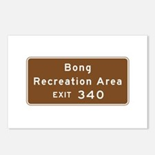 Bong Recreation Area, WI Postcards (Package of 8)