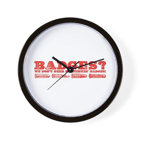 Badges? Wall Clock