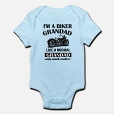 I AM A BIKER GRANDAD Body Suit
