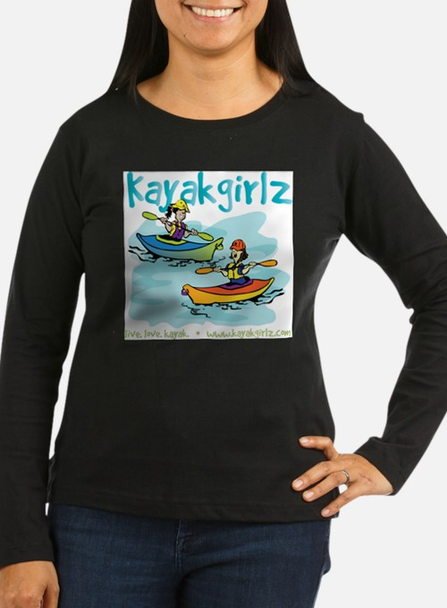Cute Kayak women T-Shirt